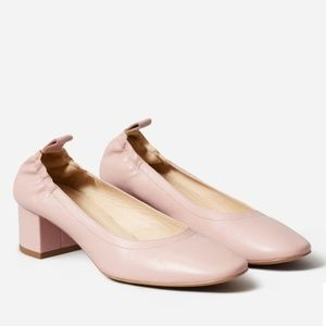 Everlane Day Heel in Rose Tan